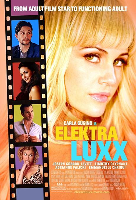 Carla Gugino, Emmanuelle Chriqui, Joseph Gordon-Levitt, Timothy Olyphant, and Adrianne Palicki in Elektra Luxx (2010)