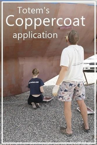 Totem's Coppercoat application