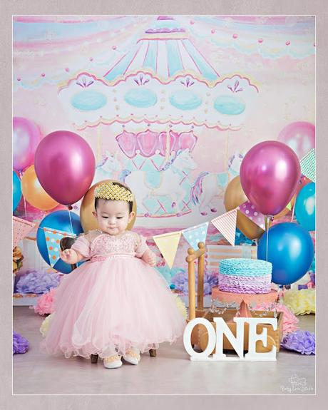 Stella's Pre-Birthday Photoshoot with Baby Love Studios
