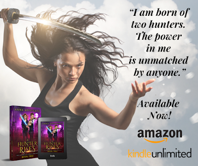 A Hunter Rises (Alliance of Power Duology #2) by Anna Applegate