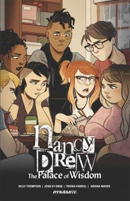 Manga Monday-Nancy Drew: The Palace of Wisdom by Kelly Thompson: Feature and Review