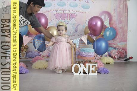 Stella's Pre-Birthday Photoshoot with Baby Love Studio - Unedited