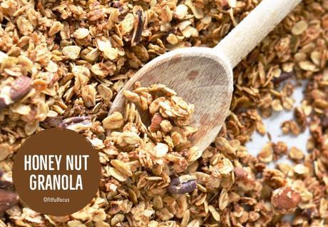 Honey Nut Granola (gluten free, vegan)
