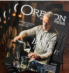 L.M. Archer discovered the secrets to crafting and blending the base wines of Oregon's artisan sparkling wine makers.