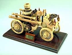 Image: A Scroll Saw Woodworking Plan To Build A Steam Fire Engine Model Project, by WoodworkersWorkshop