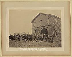 Image: U.S. Fire Department, Alexandria, Va., with steam fire engines, July, 1863, by Historic Photos