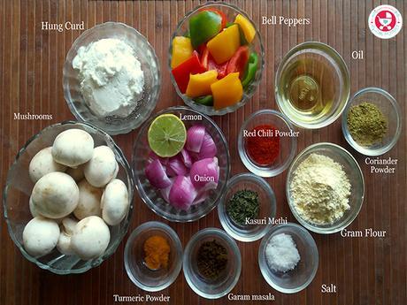 How to make Mushroom Tikka?