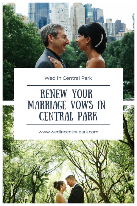 Renewing your Wedding Vows in Central Park