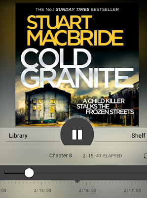 Audio Book Reviews Discovering A New To Me Crime Thriller Series