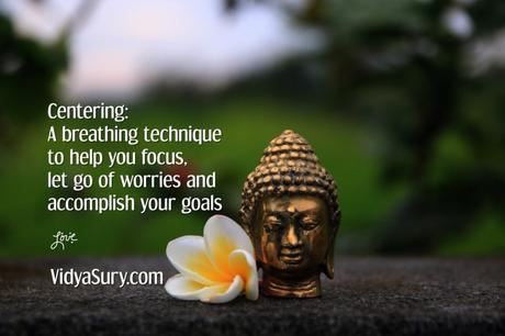 Centering Yourself #AtoZChallenge #WednesdayWisdom