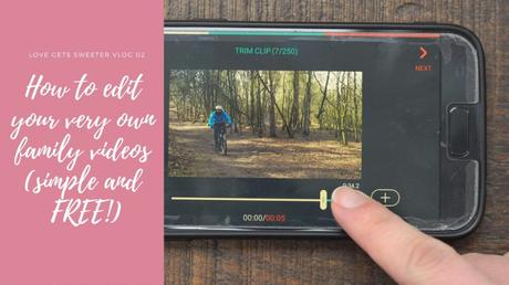 Edit your very own family video from your smart phone!