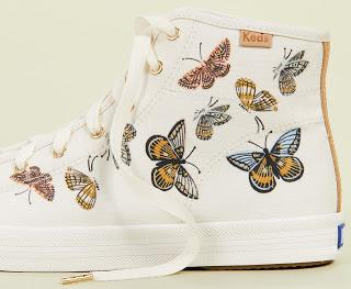 Shoe of the Day | Keds x Rifle Paper Co Monarch High Top Sneakers