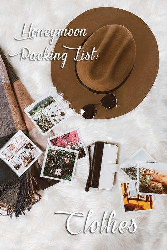 honeymoon packing list photos and clothes