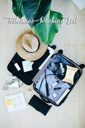 honeymoon packing list luggage with items for holidays