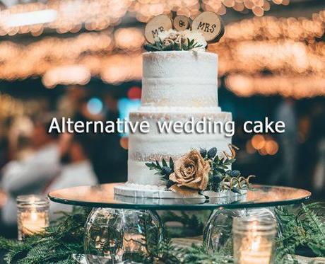wedding on a budget alternative wedding cake
