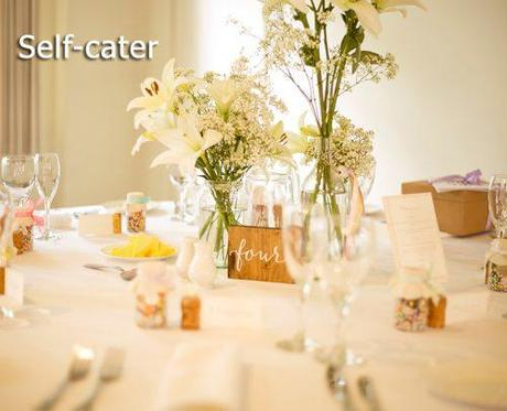 wedding on a budget self catering for wedding