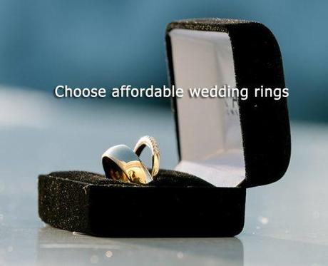 wedding on a budget affordable wedding rings