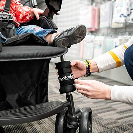 Image: Steady Stroller Weights - Prevent Tipping with Safety Counterweights for Weight in Back of Stroller - Strap-On Weights - ModFamily