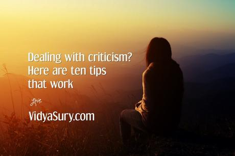 Ten tips to help you deal with criticism effectively #AtoZChallenge #Selfhelp
