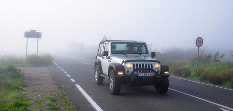 Image: Jeep in the Fog, on Pixabay