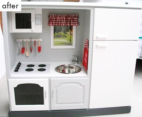 Image: 20 coolest DIY play kitchen tutorials