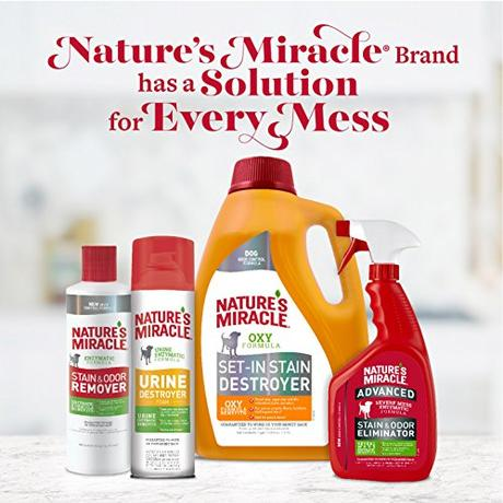 Nature's Miracle Dog Stain and Odor Remover Pour, 170 fl. oz.