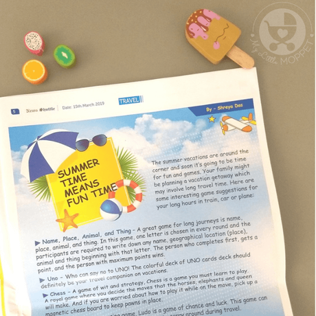 If you'd like kids to stay informed but think the news is too depressing, try News Shuttle Newspaper for Kids! Kid-friendly, informative and fun!