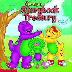 Image: Barney's Storybook Treasury | Hardcover: 176 pages | by Robert Alvord (Illustrator). Publisher: Barney Pub (January 1, 1999)