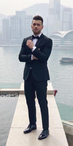 wedding dress code formal black tie with white shirt saintcrispin bespoke
