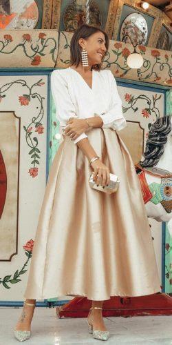 wedding dress code semi formal shirt with skirt chic wish