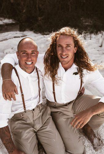 real wedding the woods of jervis bay groom with friend nathan lapham