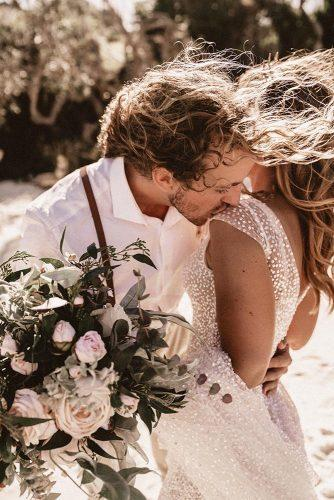 real wedding the woods of jervis bay tender kiss nathan lapham