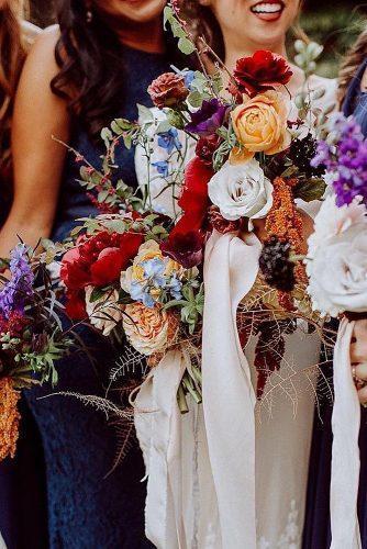 wedding splurges bouquet planning