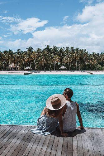 wedding splurges maldives newlyweds honeymoon