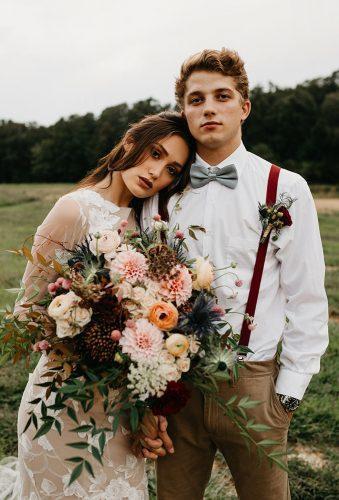 wedding splurges rustic wedding couple alybarnettphotography