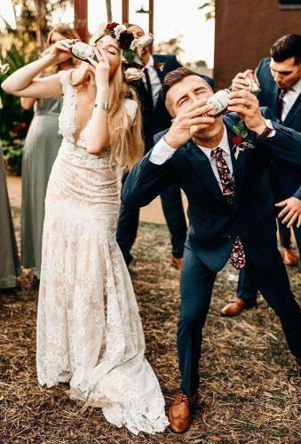 wedding splurges funny couple kiss beer shannonleemiller