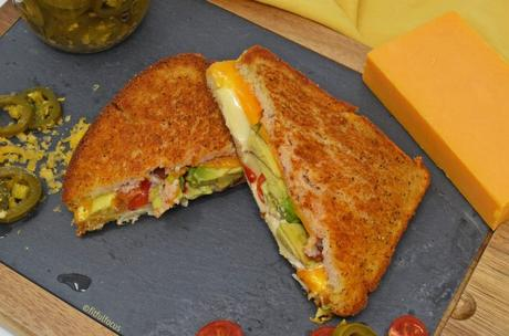 Gluten Free Nacho Grilled Cheese