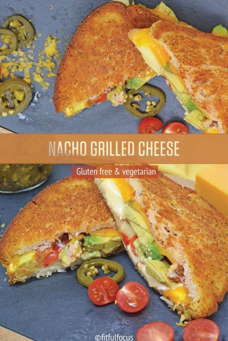 Gluten Free Nacho Grilled Cheese