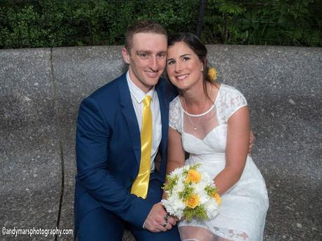 Melanie and Dean's Intimate Wedding in the Shakespeare Garden