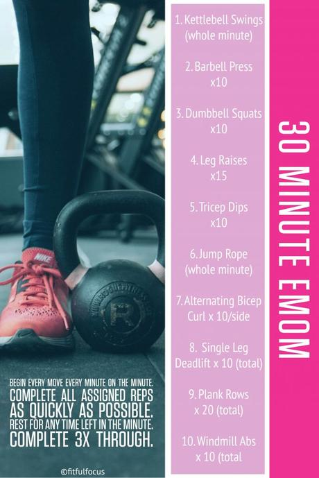 30 Minute EMOM Workout