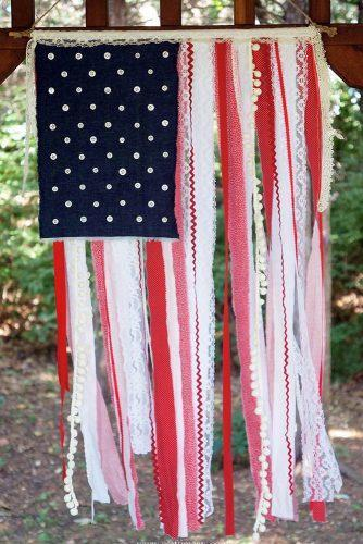 independence day wedding 4th of july diy ceremony backdrop red white and blue craftiments