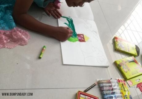 Vacation Made Creative With Camlin Painting Kit – #MakingLearningFun