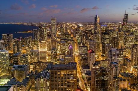 chicago-city-night-light-pollution