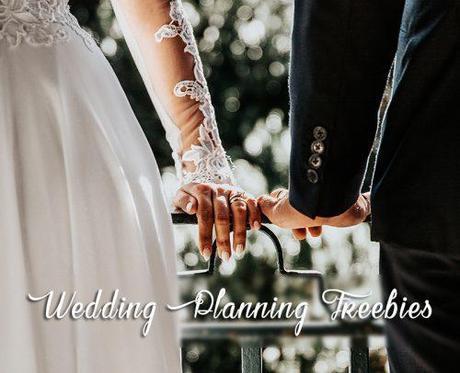 wedding freebies wedding planning freebies