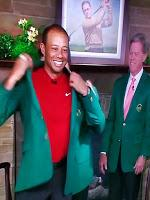 Tiger Woods Masters jacket