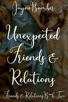 UNEXPECTED FRIENDS & RELATIONS - BLOG TOUR WITH AUTHOR JAYNE BAMBER