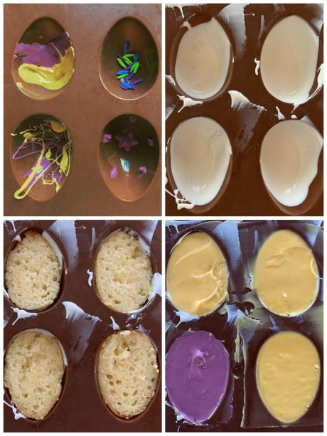 Make This: Candy-coated Lemon Cake Easter Eggs
