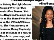 BlackWomenStandUp.com's #GoddessSpotlight…Hip-Hop Journalist Barnes