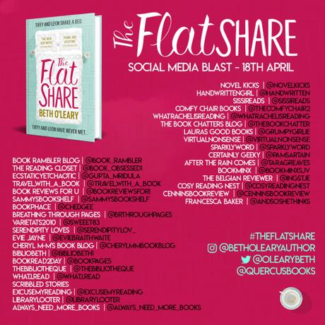 Blog Tour/Social Media Blast – The Flatshare by Beth O'Leary