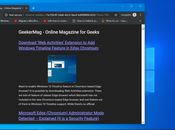 Reader Mode Available Google Chrome Desktop